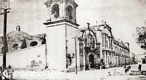 1625 Templo de La Compañia - Cronologias San Luis Potosi