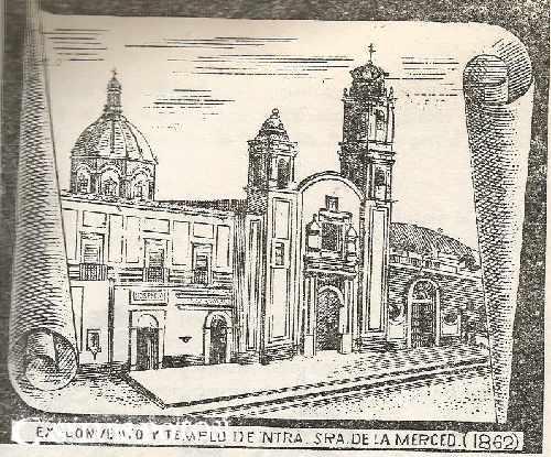 1681 Templo de La Merced - Cronologias San Luis Potosi